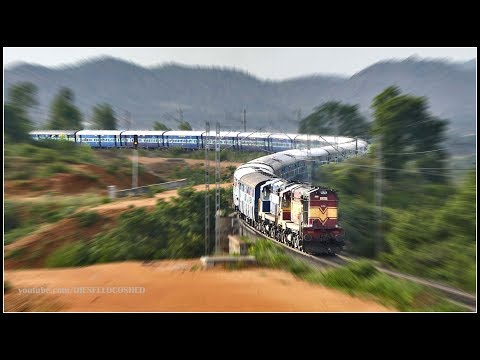 MEGA OFFLINK STRIKES !! RAJKOT COIMBATORE Express | Indian Railways