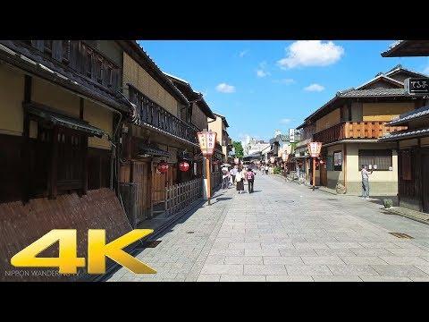 Walking around Hanamikoji street, Kyoto - Long Take【京都・花見小路】 4K
