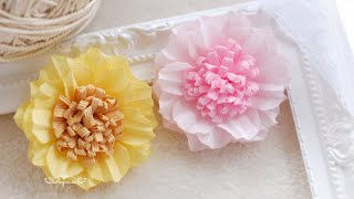 Flower Craft with Cloth - How to Use Flower Making Tools