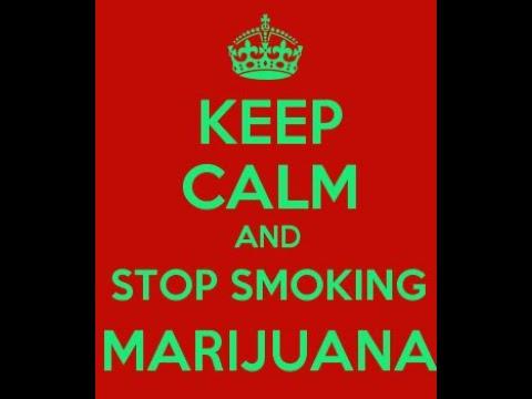 stop smoking weed