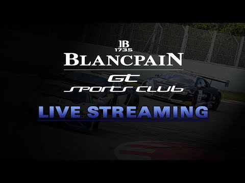 LIVE - Free Practice 1 - Hungary - Blancpain Gt Sports Car Club - English