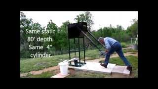 WaterBuck Pump high volume deep well hand pump for off-grid water