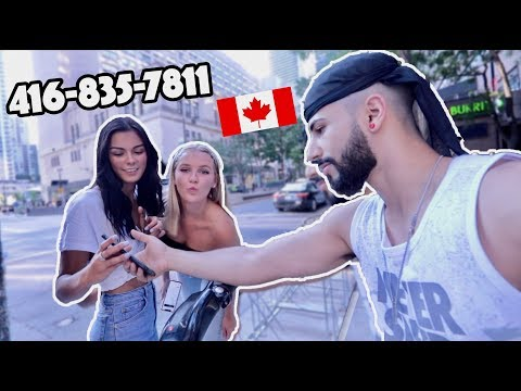 Picking Up Girls In Toronto.. (FOUND A CANADIAN WIFE)