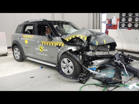 Mini Countryman 2017 Crash Test Euro Ncap