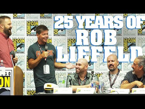 25 Years of Rob Liefeld Full Panel! - SDCC 2017