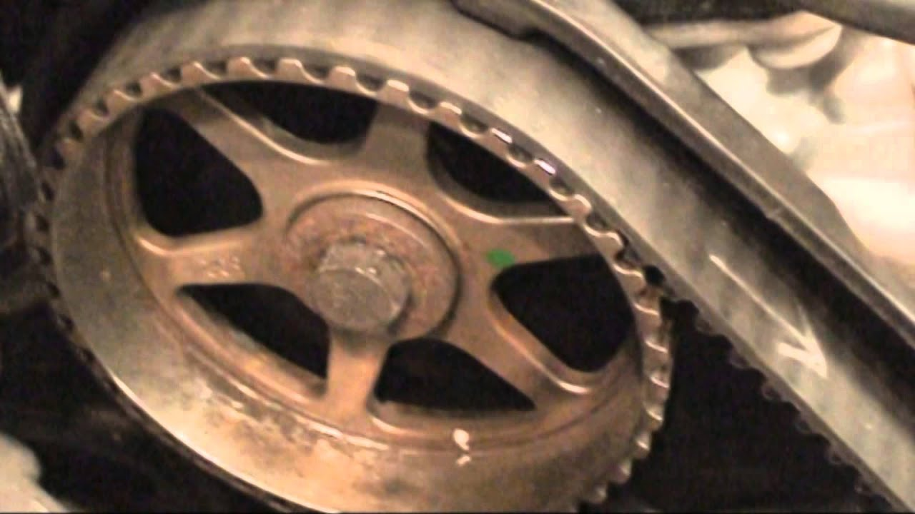 Neon 2003 timing belt remove install crank pulley highlights - YouTube