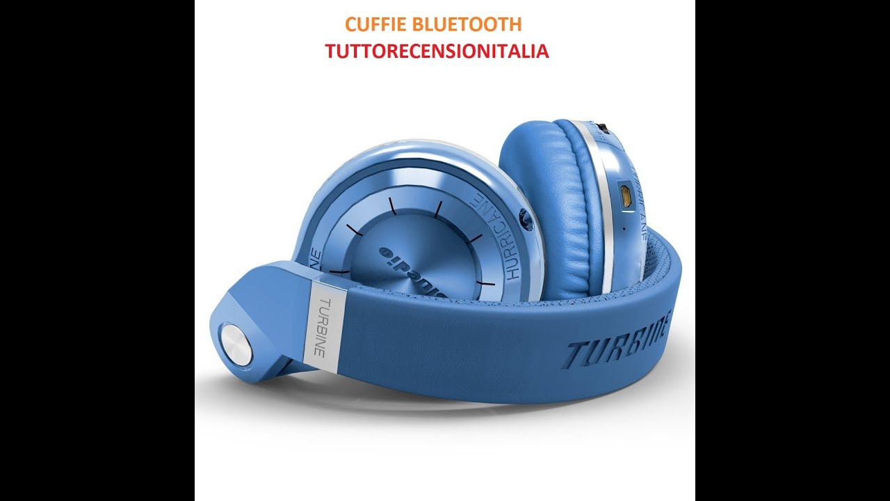Cuffie Bluedio T2S (Turbine 2 Shooting Brake) Bluetooth stereo - YouTube 83a10f4c295b