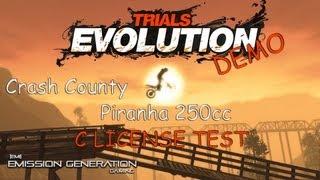 06 - C License Test - Piranha 250cc - Trials Evolution Gold Edition DEMO