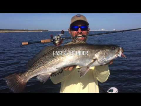 Quest for a 4-pound speckled trout