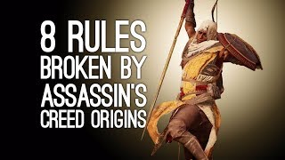 One of Outside Xtra's most viewed videos: Assassin's Creed Origins: 8 Ways Assassin's Creed Origins Breaks The Rules