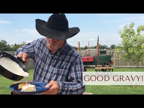 How to Make Creamy White Gravy