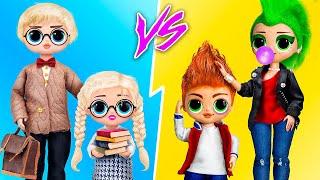 11 идей для кукол ЛОЛ Сюрприз ОМГ в школе
