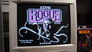 Rogue for MS-DOS: Playing for the First Time
