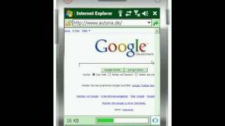 Windows Mobile 6.1.4 Emulator - Internet Explorer Mobile 6 - Flash Support