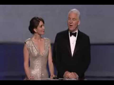 Academy Awards 2009 Steve Martin Tina Fey Oscar - In Love