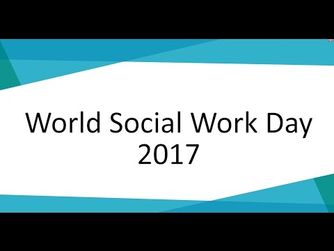 World Social Work Day 2017 - Chantelle