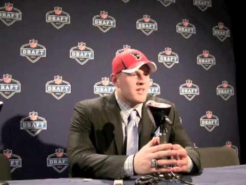 J J Watt - Houston Texans 2011 NFL Draft Pick Interview
