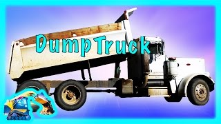 Kids Machines - Dump Truck Construction Vehicle