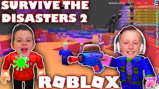 I Got a Slime Gun | Lets Survive The Disasters 2 on Roblox | With GamerBoy JJM