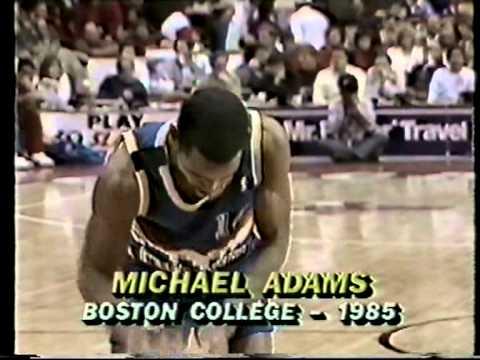 Michael Adams's Weird Free Throws