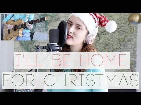 I'll Be Home For Christmas | Acoustic Guitar Cover By Hey It's Phae