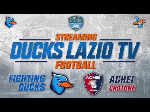 Diretta Streaming Fighting Ducks Roma Vs Mida Achei Crotone