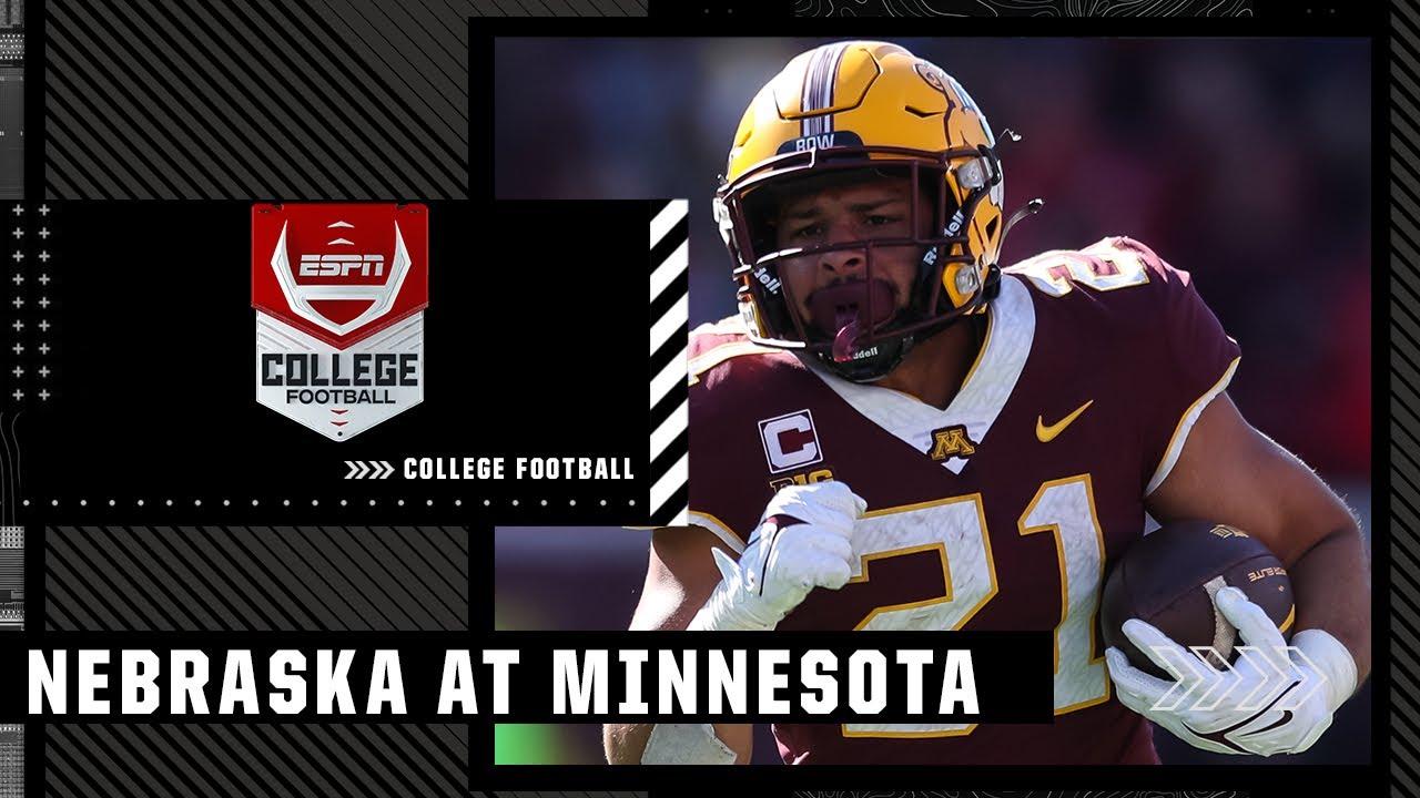 Nebraska vs. Minnesota - Game Recap - October 16, 2021 - ESPN