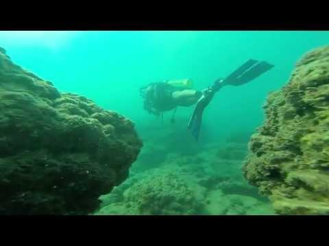 Zlila Team - The submerged Roman harbor - Ancient Caesarea 08.08.14