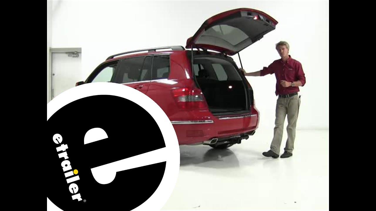 Floor mats mercedes - Review Of The Weathertech Floor Mats On A 2012 Mercedes Benz Glk Class Etrailer Com