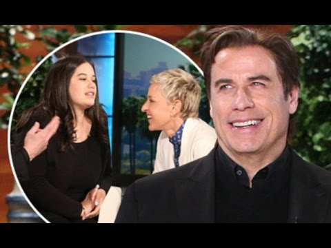 John Travolta comes daughter Ella rescue when Ellen DeGeneres her dating life