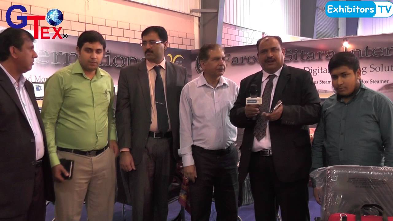 Farooq Sitara at Gtex 2016 Textile Machinery Brand Exhibition in Pakistan  (ExhibitorsTV)