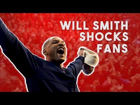 Will Smith Shocks Fans | BRIGHT: Netflix Promo Tour