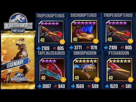 Pterosaurs in SHOWDOWN - Jurassic World The Game  