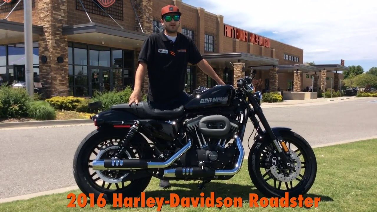 The All New 2016 Harley DavidsonR RoadsterTM