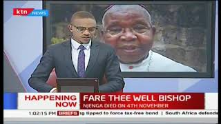 President Uhuru leads the Nation in mourning the late Archbishop Njenga