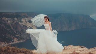 Нежная и трогательная свадьба в Крыму,выездная церемония у моря +7-978-836-65-62