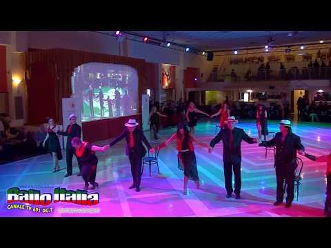 TANGO ARGENTINO DA WELCOME FOR DANCE  ANTONIO E ANNA CALVANO  SU BALLO ITALIA TV