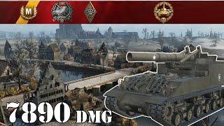 World of Tanks | M40/M43 .. 7890 Dmg