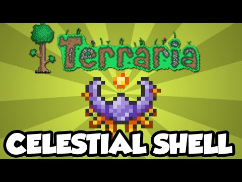Best Terraria 1.3 Accessories - The Celestial Shell - New Terraria 1.3 Super-Accessory!