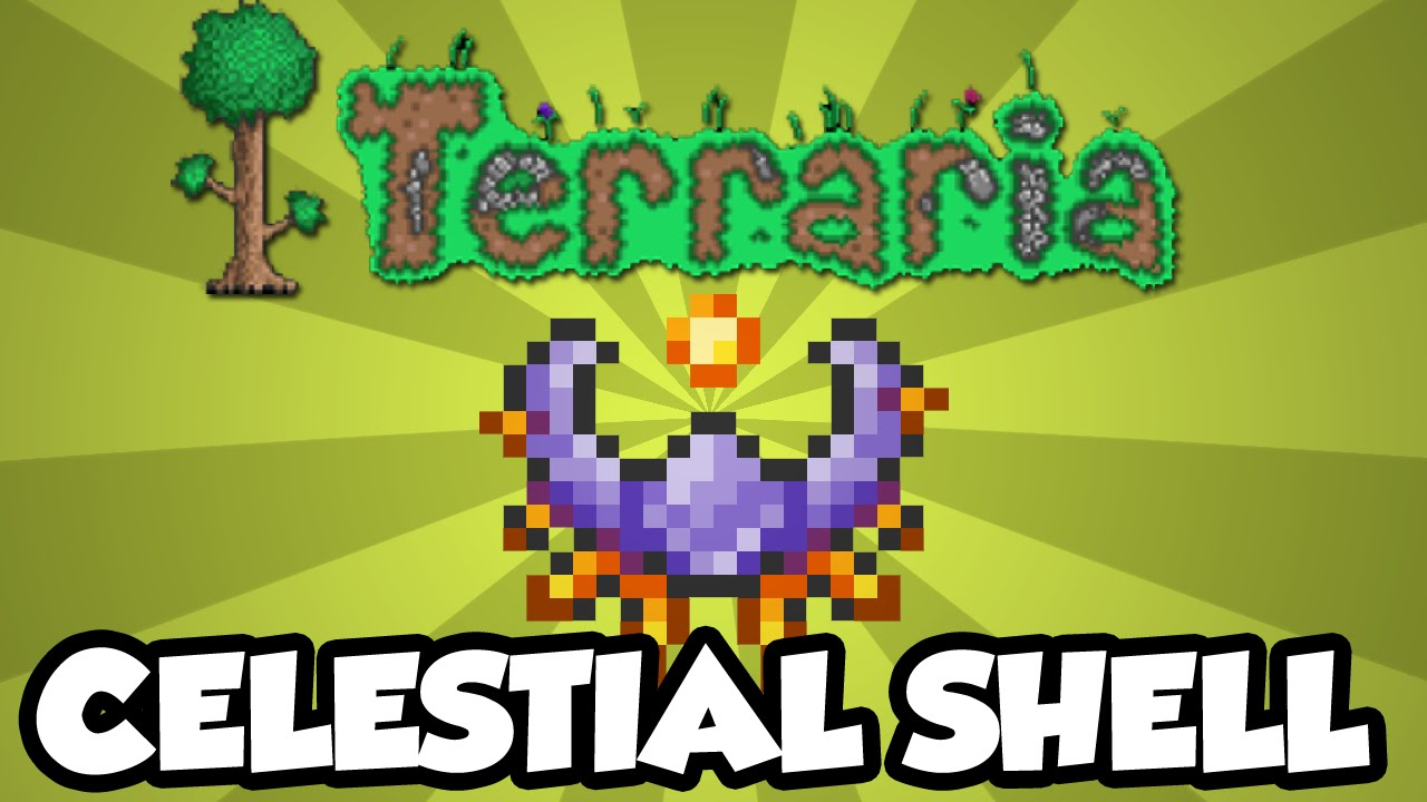 Best Terraria 13 Accessories  The Celestial Shell  New
