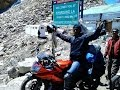 Kanyakumari to Kashmir solo bike ride on Yamaha R15- Yashas T K