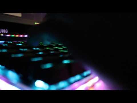 한성 기계식 키보드 MKL16S TFG (타건 영상)