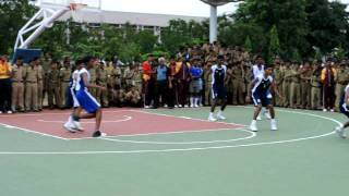 Sainik School, Bijapur-South Zone- July 2011- Basket Ball-Bijapur vs Amaravathinagar-2.avi
