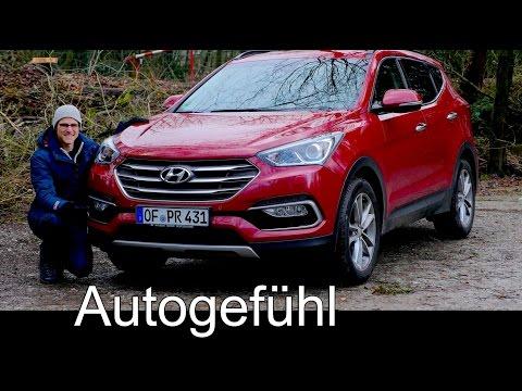 Hyundai Santa Fe Sport FULL REVIEW test driven 7-seater - Autogefuehl