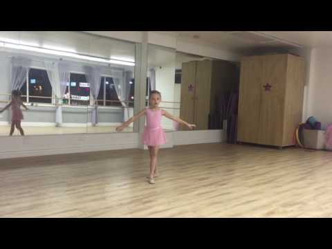 Ballet. Solo. Fairy-doll variation. 7 years old.