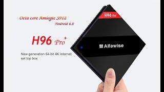 Смарт ТВ бокс H96 Pro+ 3+32 GB. Розпакування unboxing