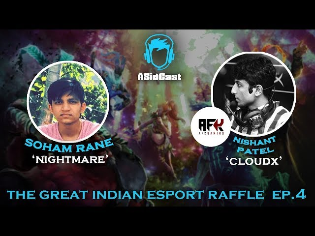 The Great Indian Esport Raffle ft. Rane and Nishant \'ClouDx\' Patel | Ep#4