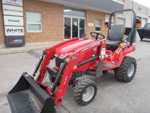 Massey Ferguson GC1705 Sub Compact Tractor Price specifications Features |  Review