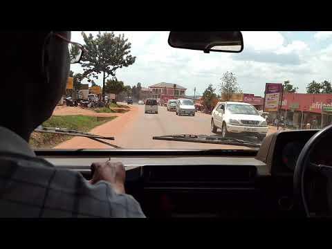 Headed through Kampala