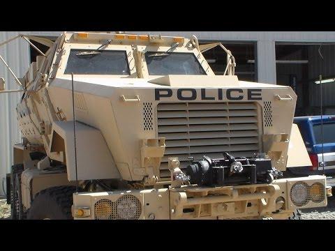 MRAP Police Vehicle Kingman PD